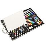 TYJKL Suproducción de artículos de Arte Calidad Caja de Madera Pintura Conjunto Acuarela Pluma Pintura Infantil papelería 108 Pieza Conjunto para Libros para Colorear Adultos.