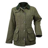 Ladies Tweed Jacket, Green