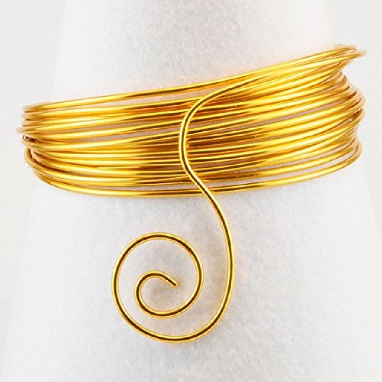 Vaessen Creative Aluminium Wire, Gold, One Size