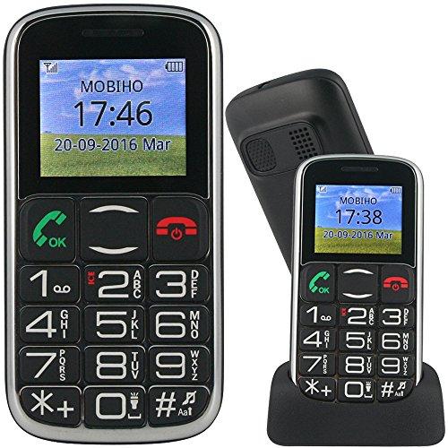 Mobiho-Essentiel le CLASSIC STYLE - Mobile pour senior. Un son fort : conviendra à des utilisateurs commençant à avoir des problèmes auditifs mais pas très déficients. DEBLOQUE TOUT OPERATEUR