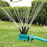 Chornlily 1 Set de riego de Fideos Cabeza Flexible de 360 Grados del Agua de riego Spray de Aerosol de la Boquilla del césped del jardín de riego riego por aspersión