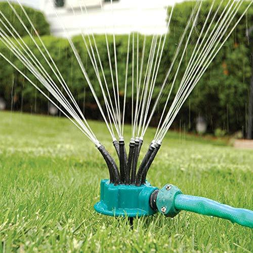 Fideos Garden 1 set irrigatiekop, 360 graden flexibele kop, sproeiwaterspray, gazonsproeier, tuinirrigatie