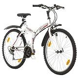 Multibrand, PROBIKE Folding MTB 26, 26 Pollici, 457mm, Mountain Bike Pieghevole, 18 veloci...