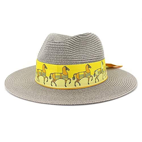 Xiang Ye Cinta Ancha Edge Sombrero de la Playa al Aire Libre...