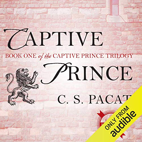 Captive Prince audiobook cover art