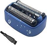 Scherkopf für Braun 40B Elektrorasierer - Ersatzscherteil für Braun 40B cooltec CT2s, CT2cc, CT3cc, CT4s, CT4cc, CT5cc, CT6cc von Poweka