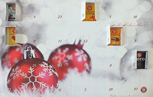 Tee Adventskalender/Weihnachtskalender von Teekanne - Adventskalender / Weihnachtskalender mit Tee