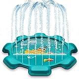 (Alta qualità e durevole) - Tappetino da gioco Sprinkle, realizzato in materiale PVC ambientale e morbido e resistente, senza BPA, ambientale e non tossico.Non devi preoccuparti della sicurezza dei bambini perché il tappetino da gioco splash è poco p...