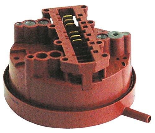 Hobart - Dispositivo de presión para lavavajillas AMX-ER, AUX-ER, AMX-E, AUX-E, UX-30ES con 2 zonas de presión 80/60 mbar-35/25 mbar, diámetro: 84 mm, 6 mm