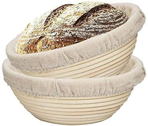 Hailiang 2 Packs 9 Inch Sales results No. 1 Pro Banneton Proofing Max 55% OFF Basket Bread