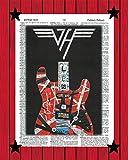 Eddie Van Halen Poster EVH Frankenstein Guitar Print Van