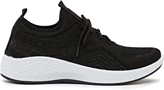 Shoexpress Textured Low Ankle Lace-Up Sneakers
