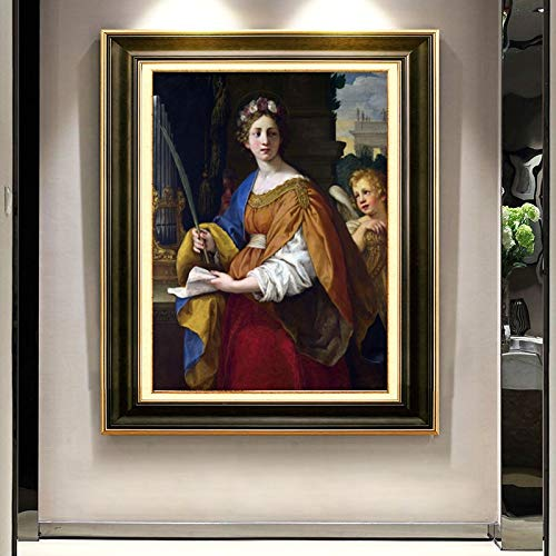 Beroemd schilderij poster en print muur canvas schilderij afbeeldingen voor woonkamer decoratie zonder frame.