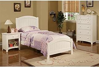 Poundex PDEX F9049 F4238 F4239 3 Piece Kids Twin Size Bedroom Set In