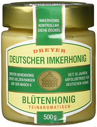 Dreyer Deutscher Blütenhonig, 2er Pack (2 x 500 g)
