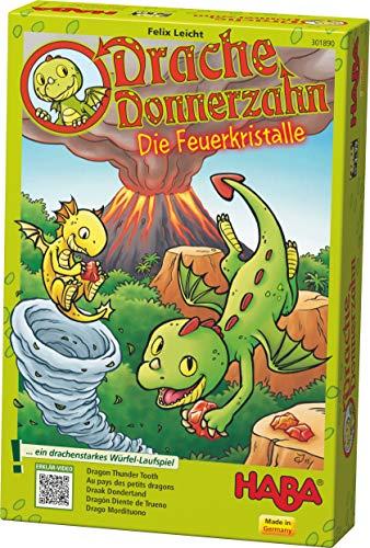 HABA 301890 Dragón Donnerzahn – Die Feuerkristalle