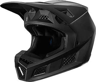 Fox Racing Solids Men's V3 Off-Road Motorcycle Helmet - Matte Black/Medium