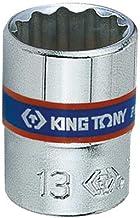 Soquete Estriado 13Mm - 1/4, Kingtony Br, 233013M
