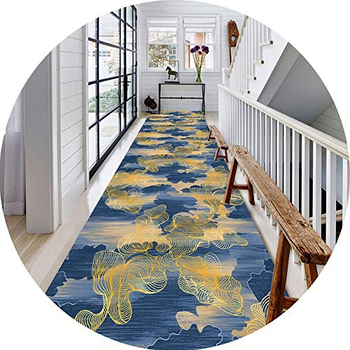 Kitchen Runner Rug Area Rug Runner Long Runner Area Rug - 3D Printing Carpet, Durable, Can Be Cut at Will, Length Can Be Customized GMING (Color : C, Size : 0.84m)