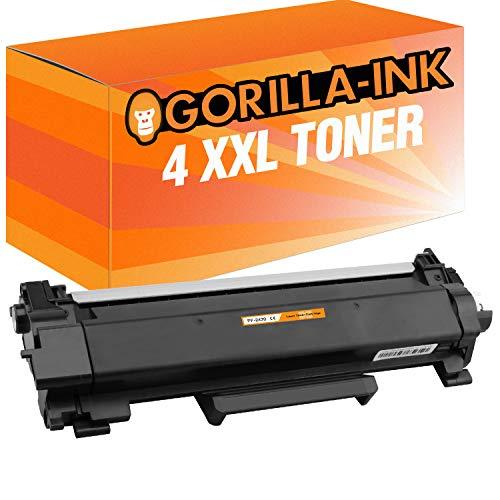 Gorilla-Ink 1x Toner & 1x trommel compatibel met Brother TN-2420 & DR-2400 (04) 4x Toner XXL