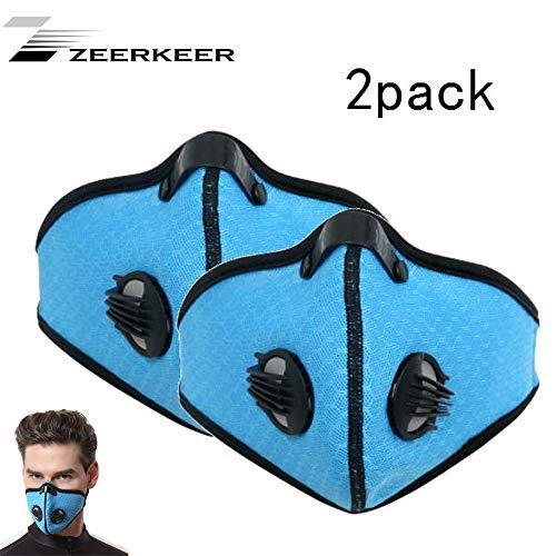 ZEERKEER Mascarilla Contaminante Mascarilla Respiratoria Anti-Polen Alergia