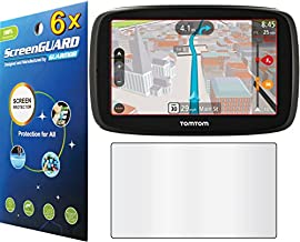 GuarmorShield 6x Tomtom Go 60 60S 6 GPS Premium Clear LCD Screen Protector Guard Cover Film Kits (NO Cutting, Package by GUARMOR)