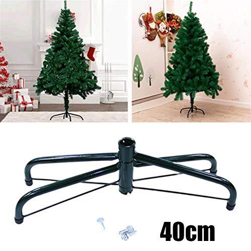 TOMATION 30/40/60CM Christbaumständer Weihnachtsbaumständer,klappbarer Weihnachtsbaumständer, Metallständerzubehör für Weihnachtsdekorationen, zum Schutz des Bodens