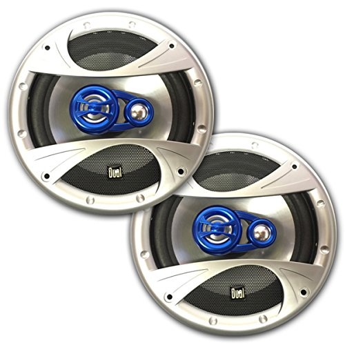 Lowest Prices! Dual IllumiNite 5.25 3-Way Car Speakers 135 Watts Peak Power Handling XiN5X253 Pair