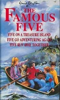 Five on a Treasure Island, Five Go Adventuring Again, Five Run Away Together (v. 1)