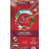Purina ONE Natural Dry Dog Food, SmartBlend Small Bites Beef & Rice Formula - 31.1 lb. Bag