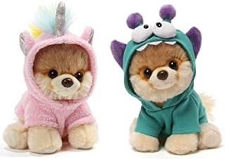 GUND Itty Bitty Boo Bundle of 2, Monsteroo and Unicorn