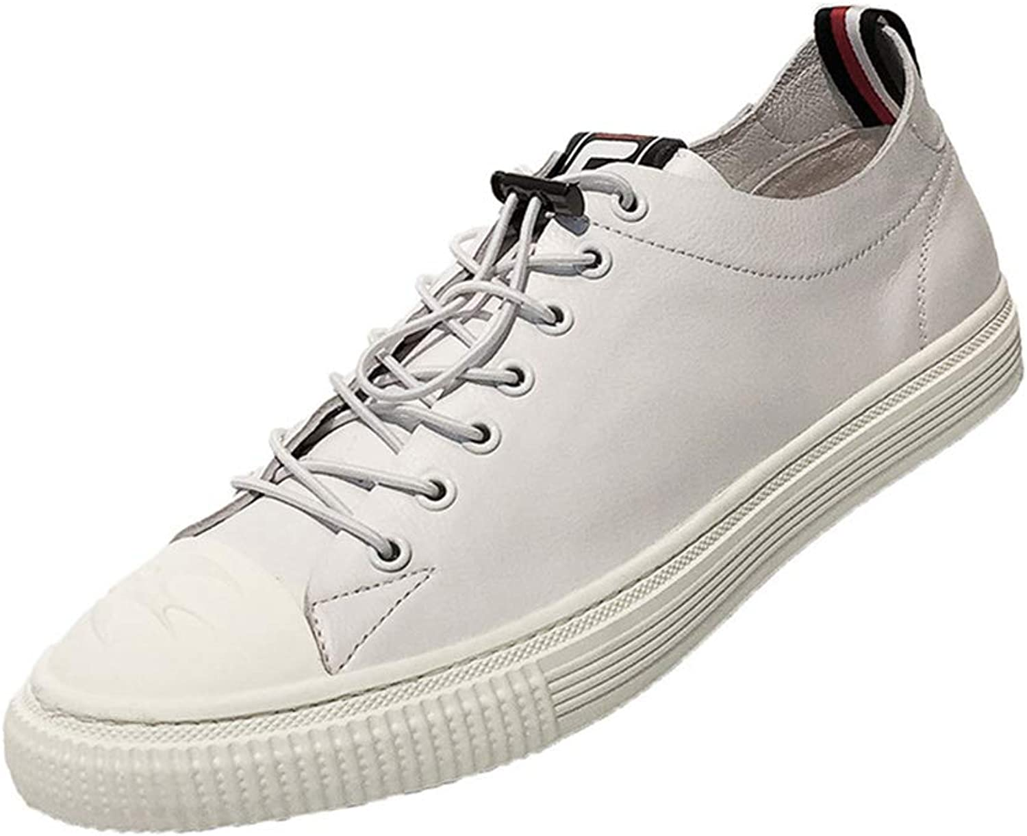 2019 Men Casual shoes Mens Deck shoes for shoes Men Fashion Flats Fashion Sneakers Outdoor Sports shoes,White,38