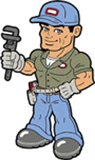 Amazon Com Sexy Handsome Buff Muscular Plumber Man Cartoon Vinyl Decal Sticker 4 Tall Arts Crafts Sewing
