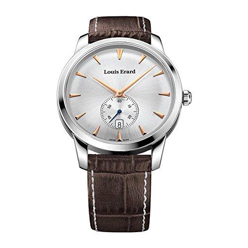 Reloj de Cuarzo Louis Erard Héritage, Plata, Pequeño Segundero, 16930AA11.BEP101