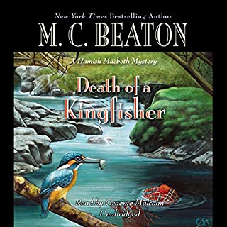Death of a Kingfisher audiobook cover art