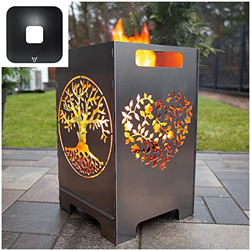tuning-art FK03 Feuertonne Grill-Set |...