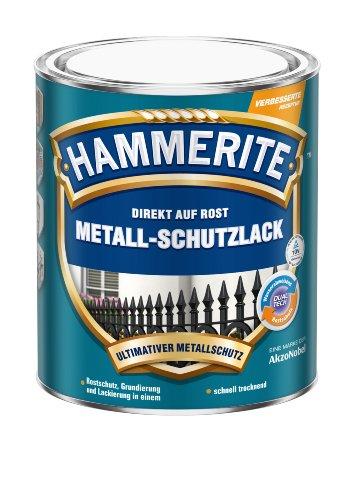 Hammerite Metall-Schutzlack braun matt 0,750 L
