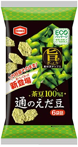 亀田製菓 通のえだ豆 70g パッケージリニューアル ×12袋