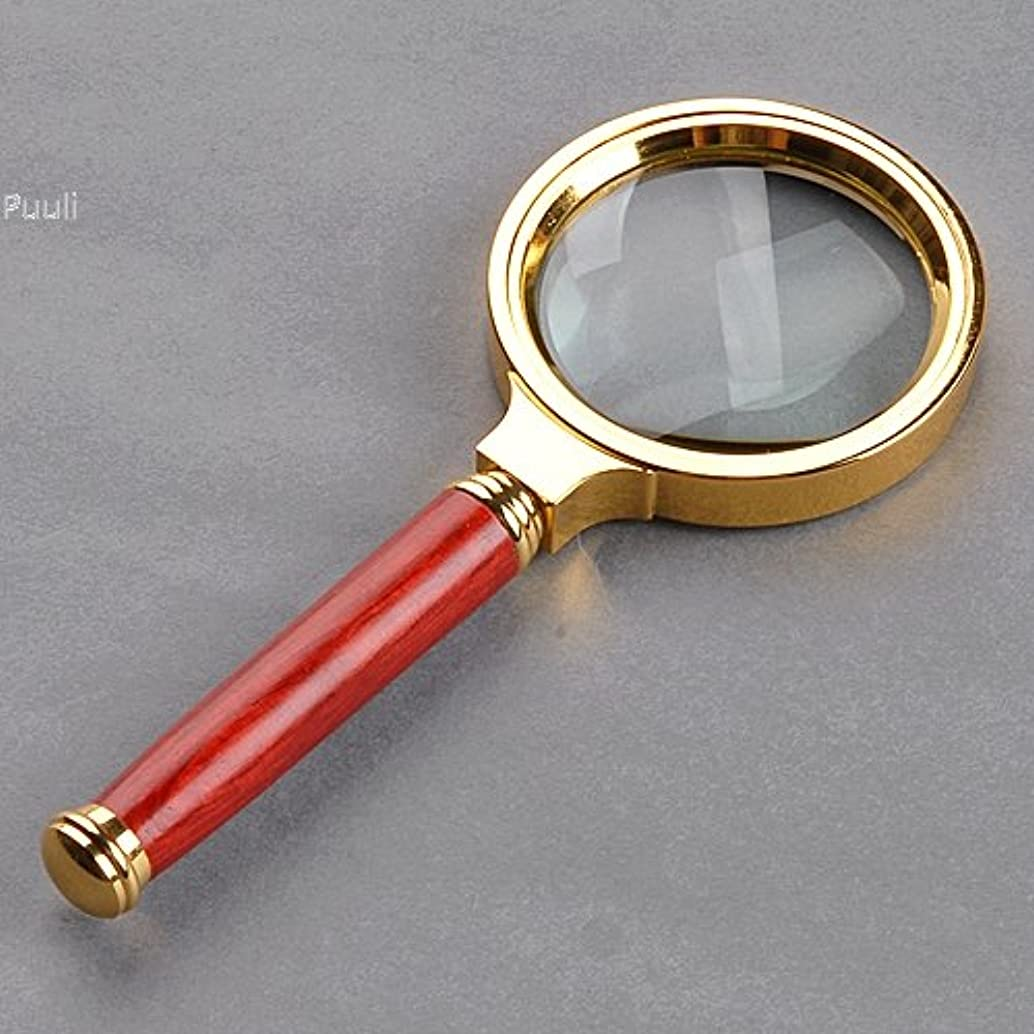 New Pocket 10X Magnifying Glass 60mm Diameter Reading Jewelry Hand Loupe Magnifier