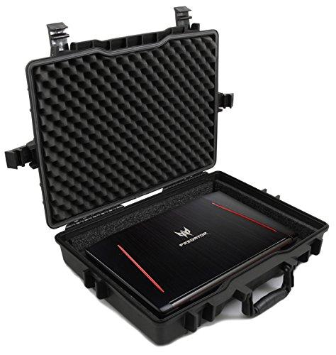 "Casematix 17"" Elite Custom Waterproof Laptop Case fits Acer Predator Helios 300, Helios 500, Nitro 5 and More Acer Gaming Laptop 15.6 inch, 17.3 inch Accessories"