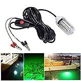 KongLyle Unterwasser-Angellicht LED Köder Fischlampe anziehend Garnelenkrill 12 V blau