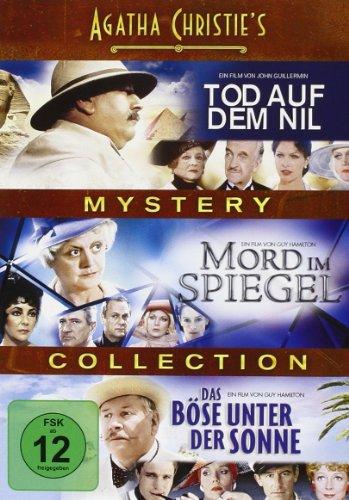 Agatha Christie's Mystery Collection: Tod auf dem Nil / Mord im Spiegel / Das Böse unter der Sonne [3 DVDs]