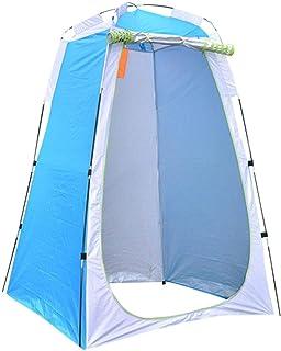 Utomhus bärbar integritet dusch toalett tält hopfällbart campingtält anti-UV utomhus klädnadstält strand camping resor