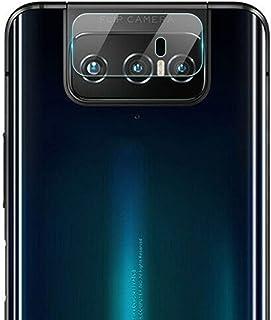 DOHUI for Asus Zenfone 7 Pro ZS671KS Camera Lens Protector, Ultra-thin Transparent Camera Lens Flexible Tempered Glass Pro...
