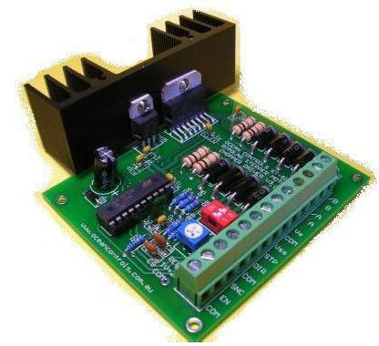 Variable Current Bipolar Stepper Motor Driver Kit - Assembly Required