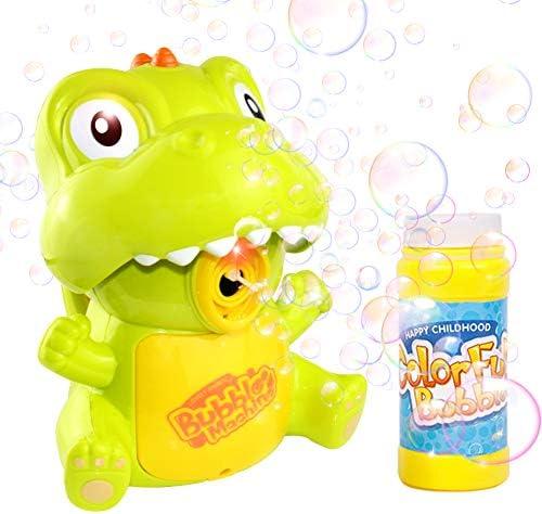 KULARIWORLD Bubble Machine Automatic Durable Dinosaur Bubble Blower Bubble Maker Outdoor Bubble product image