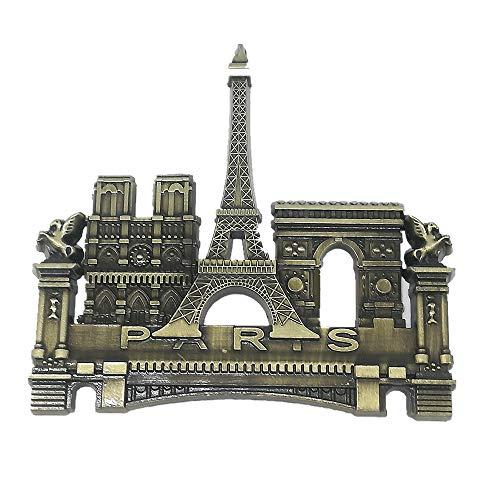 3D Paris France metal Fridge Magnet,Home & Kitchen Decoration magnetic sticker Paris France refrigerator magnet travel Souvenir gift