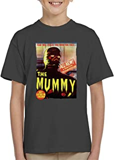 Hammer Horror Films Mummy Movie Poster Kid's T-Shirt