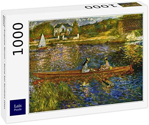 Lais Puzzle Pierre-Auguste Renoir - Senna ad Asnères (La Barca) 1000 Pezzi