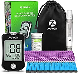 Image of AUVON DS-W Blood Sugar Kit...: Bestviewsreviews